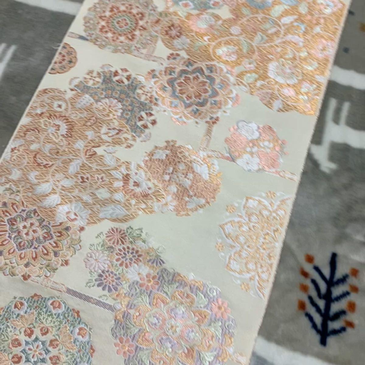 帯 帯地 未仕立て品 ハギレ ハンドメイド リメイク 素材