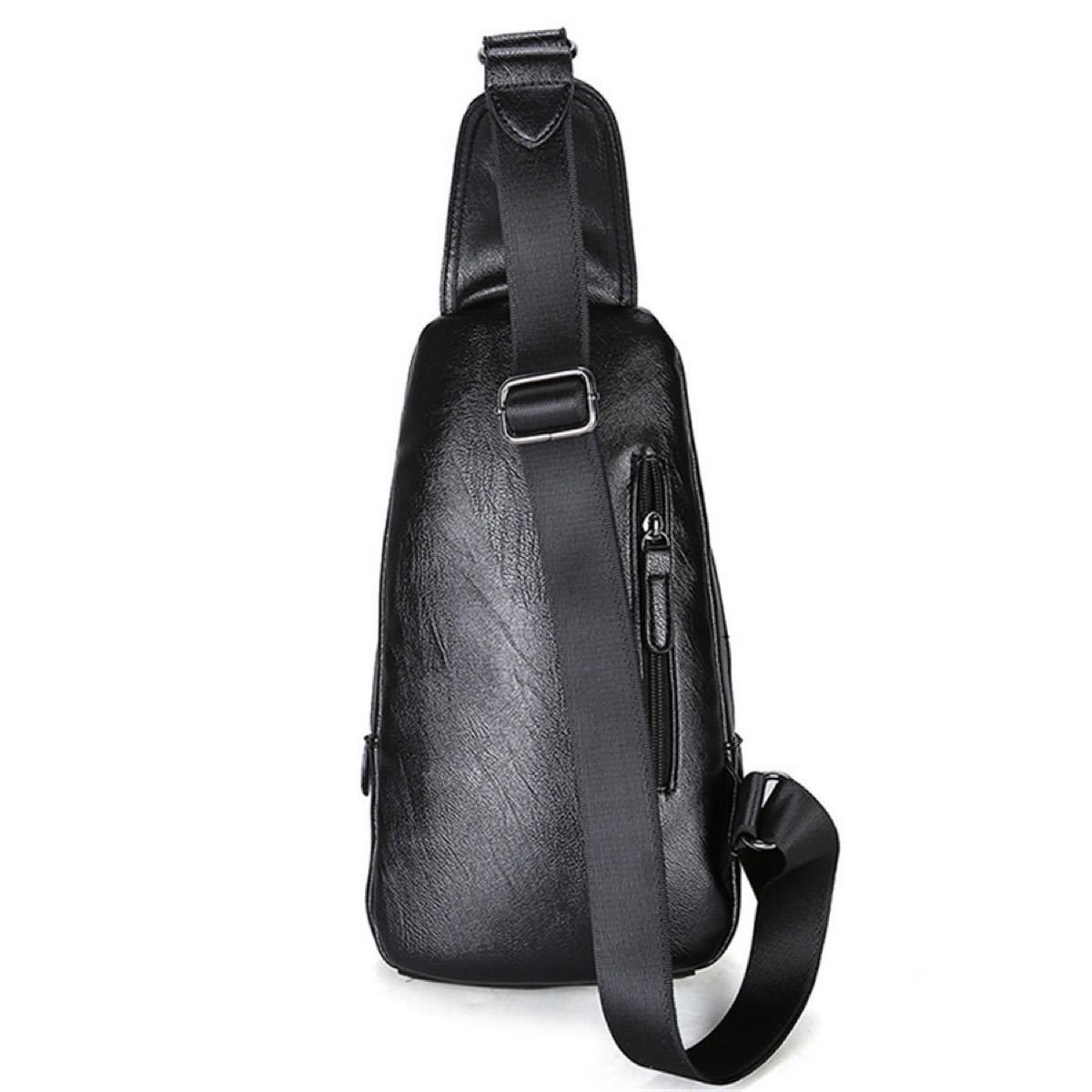 ボディバッグ レザー 斜め掛けバッグ ワンショルダーバッグ 高品質