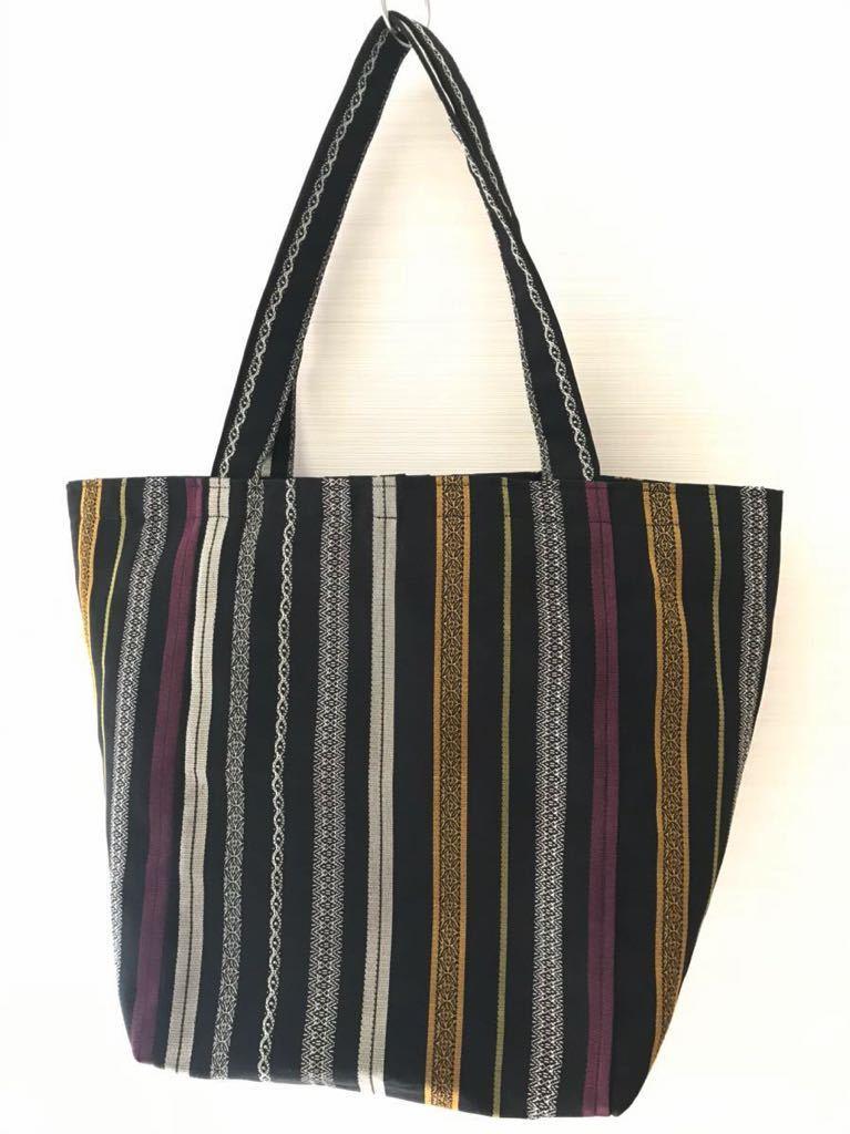 和小物 帯バッグ 手作りトートバッグ 特大サイズ