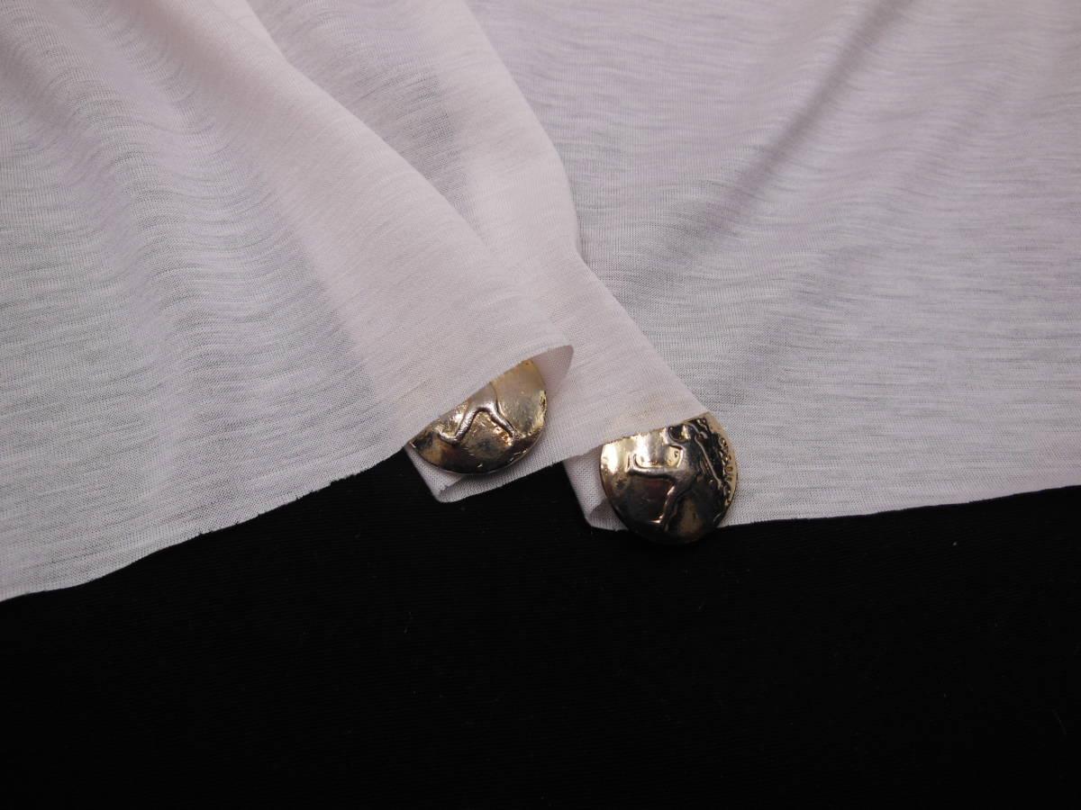 新入荷!掘り出し品!高級ブランド!なかなか手に入らない!シルケット加工!艶の有る最高級!糸細上質綿100%ニット!薄ピンク!145cm巾×1,5m_日本製最高級糸細上質綿100%シルケット