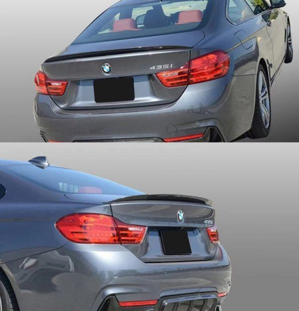 Å★国内出荷★カーボントランクスポイラー【BMW 4シリーズ F32】2ドアクーペ 420i/428i/430i/435i/440i(2014~ )_画像4