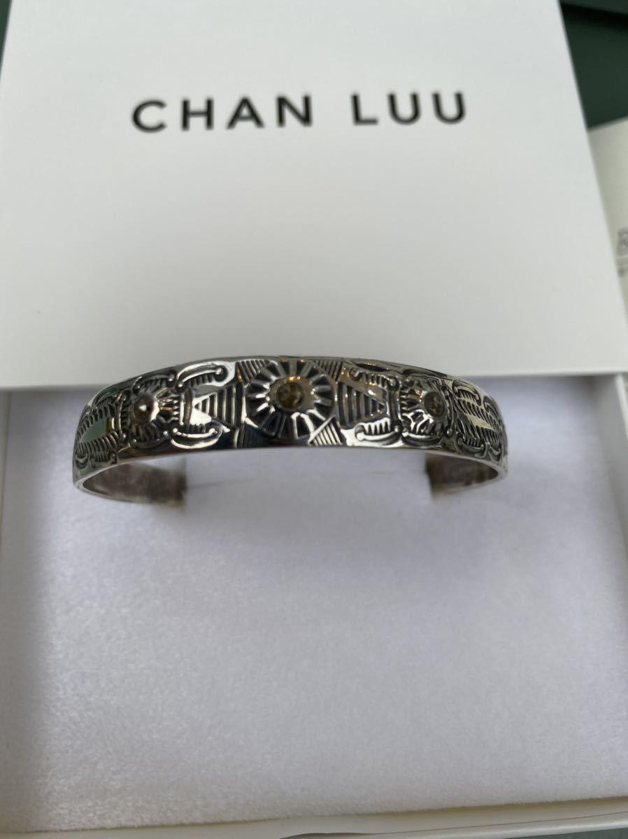 【シャンパンダイヤモンド】CHAN LUU ダイヤモンドバングル_画像2
