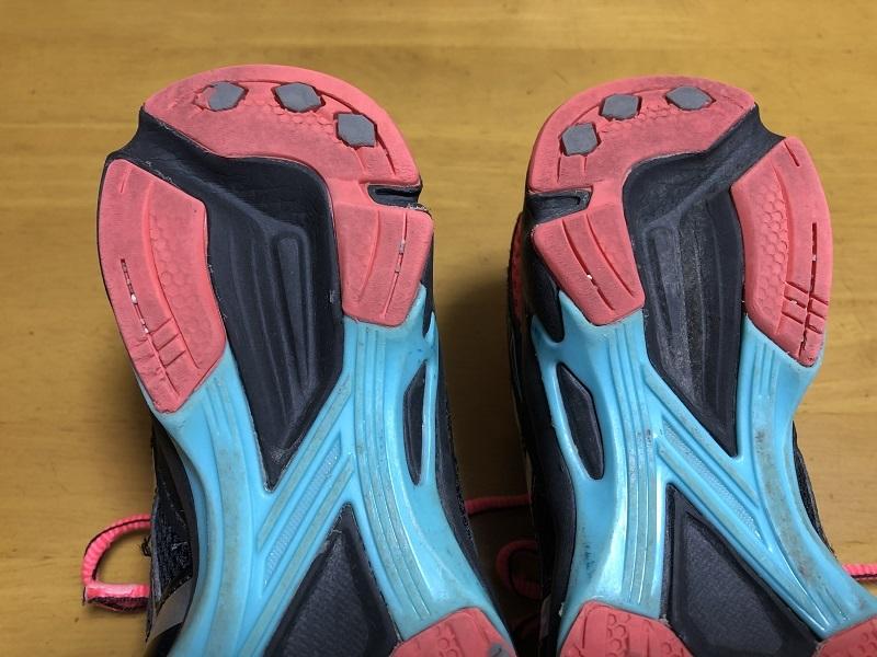 中古 アシックス 21.0cm 紐靴 運動靴 小学生 女の子_画像5