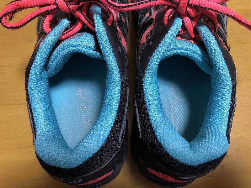 中古 アシックス 21.0cm 紐靴 運動靴 小学生 女の子_画像7