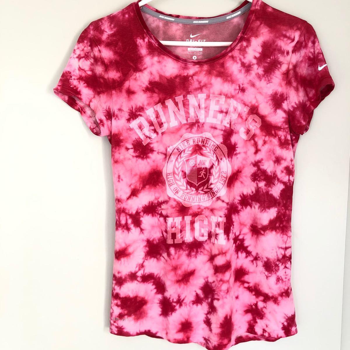 ナイキ DRI-FIT ランニングTシャツ S