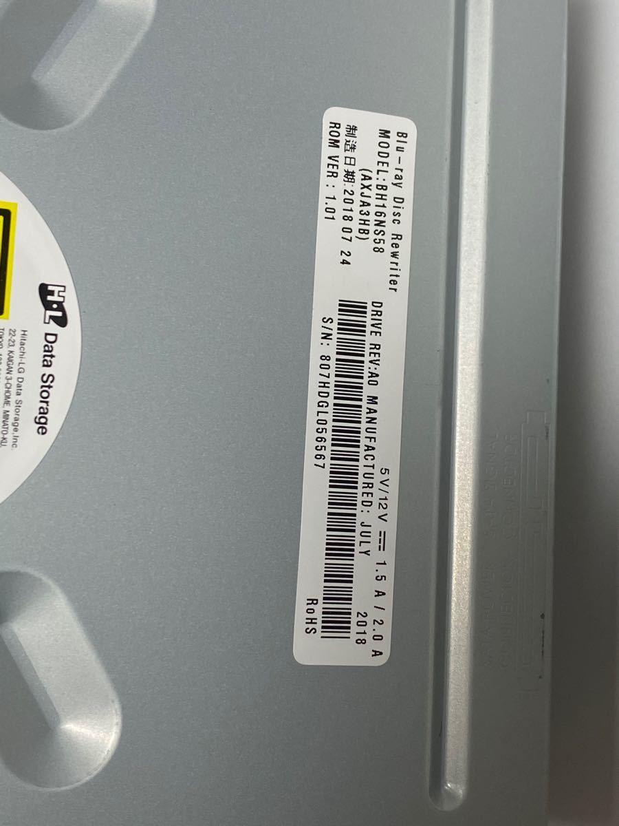 SATA内蔵Blu-rayドライブ BH16NS58 UHDも読める! 4K