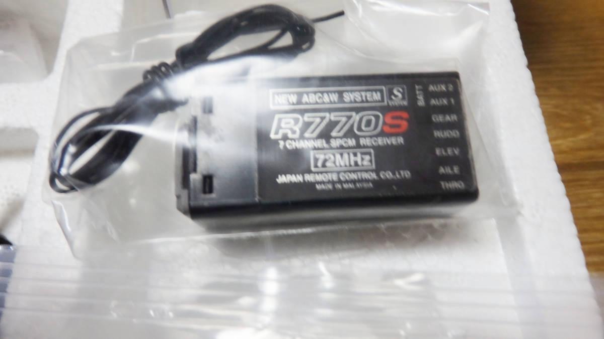 JR PROPO SPCM A.D.T デジタルプロポ X378 72MHz 17番 R770S受信機 NES-121充電器 バッテリーセット_画像5