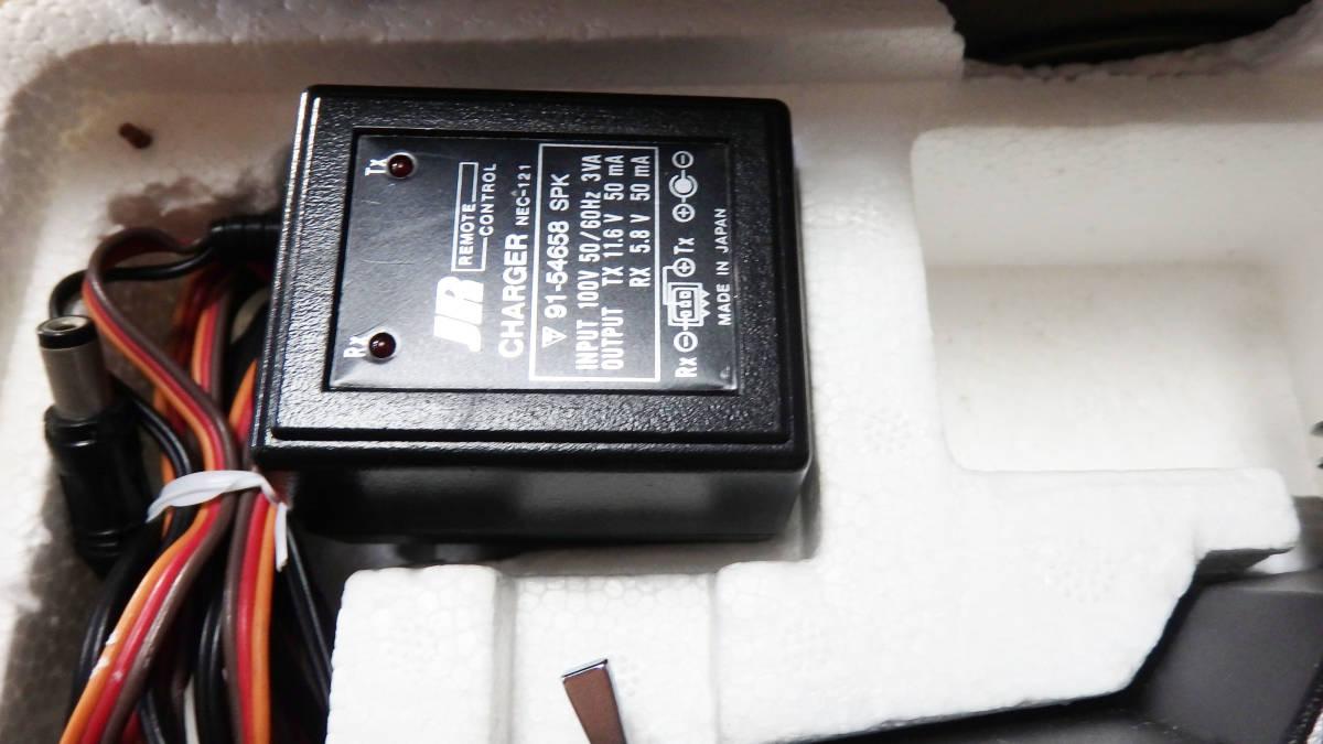 JR PROPO SPCM A.D.T デジタルプロポ X378 72MHz 17番 R770S受信機 NES-121充電器 バッテリーセット_画像6
