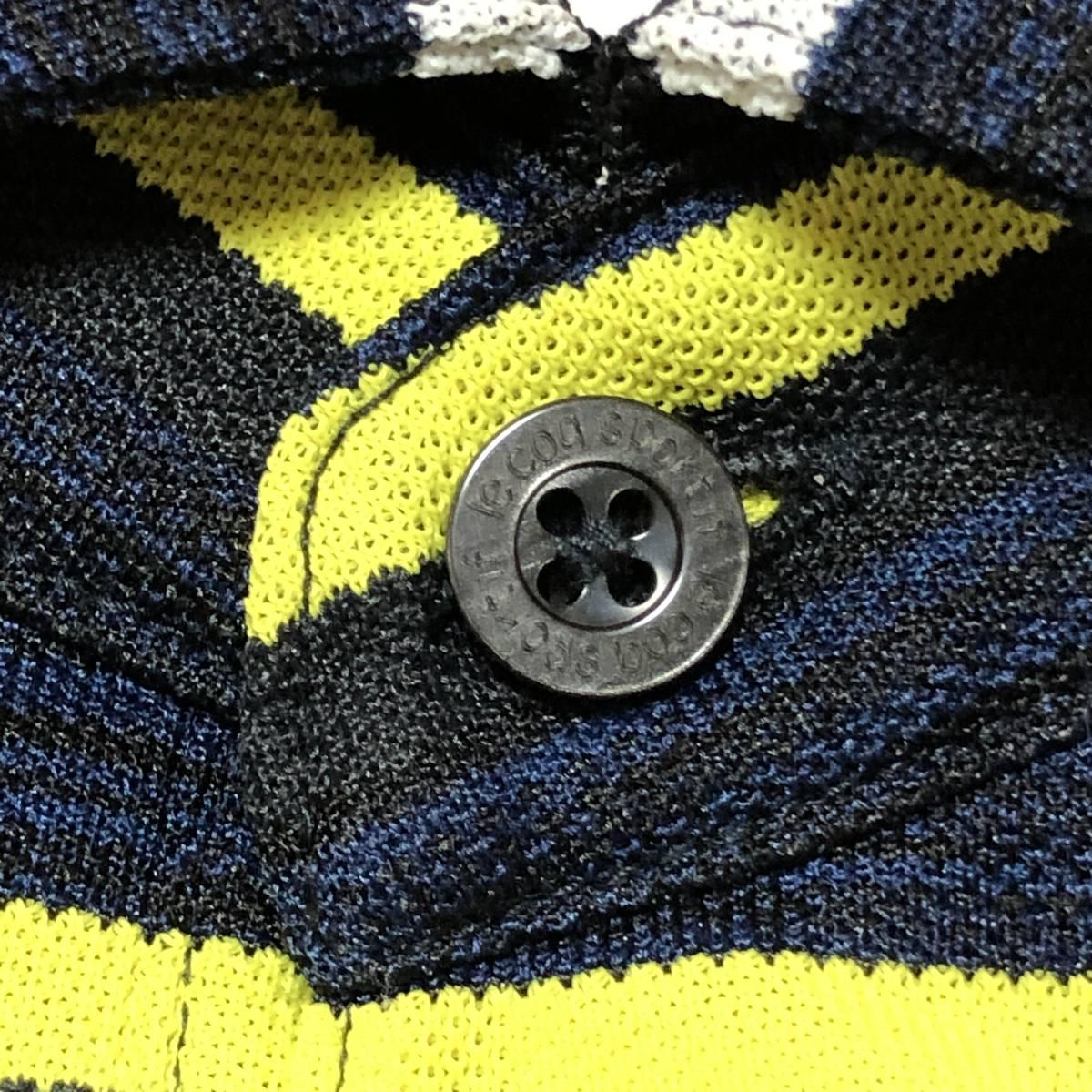 【le coq sportif golf】ルコック ゴルフ ゴルフウェア ポロシャツ 半袖 メンズ Mサイズ 送料無料!_画像6