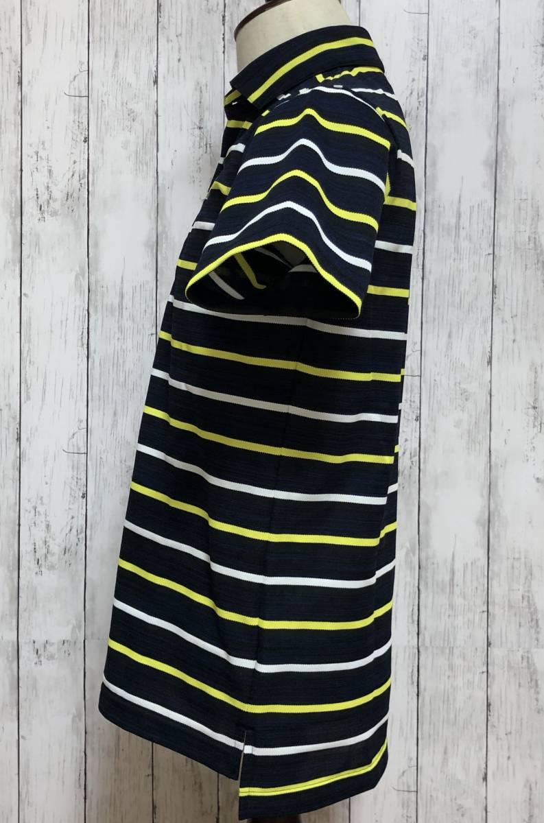 【le coq sportif golf】ルコック ゴルフ ゴルフウェア ポロシャツ 半袖 メンズ Mサイズ 送料無料!_画像3
