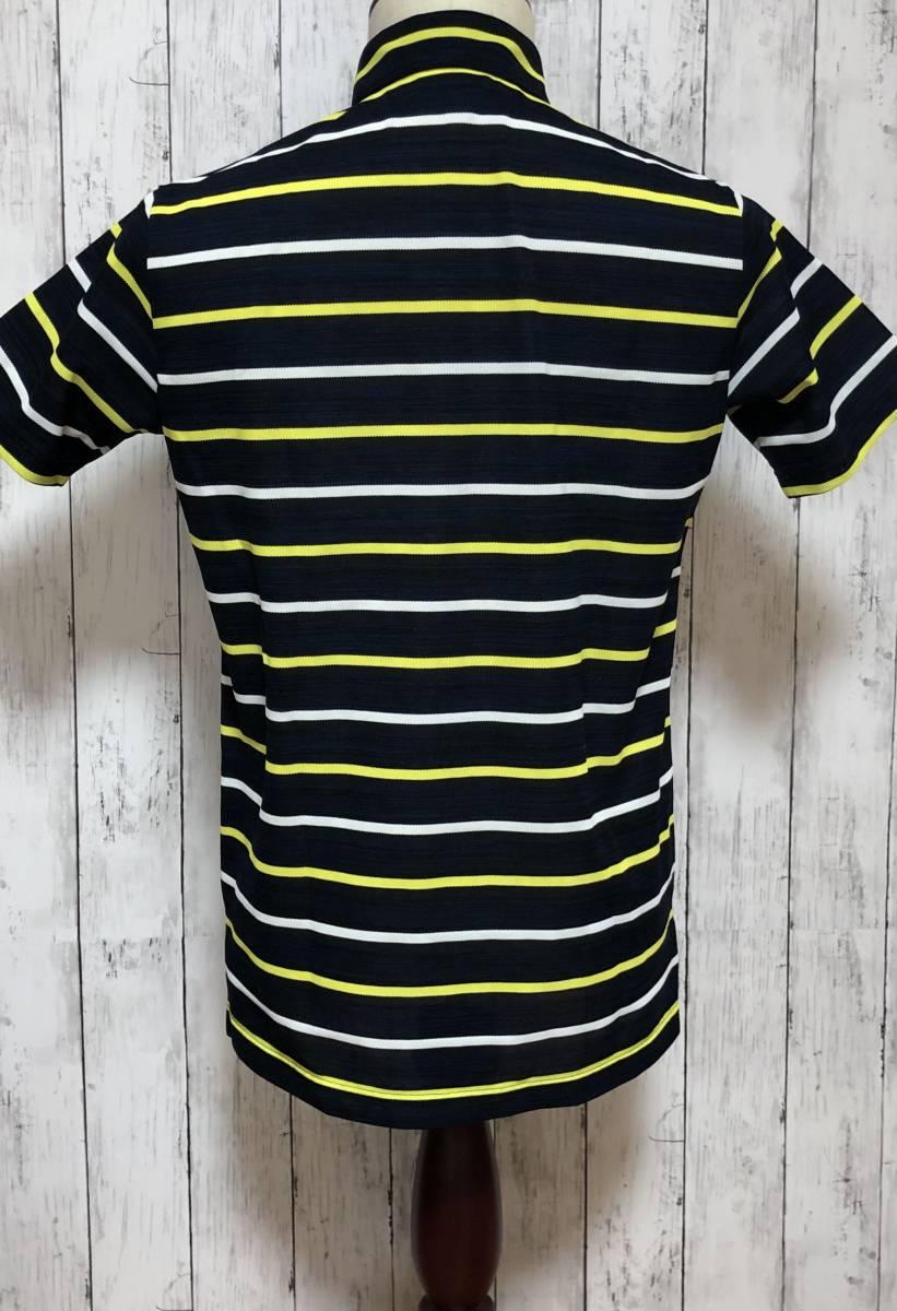 【le coq sportif golf】ルコック ゴルフ ゴルフウェア ポロシャツ 半袖 メンズ Mサイズ 送料無料!_画像4