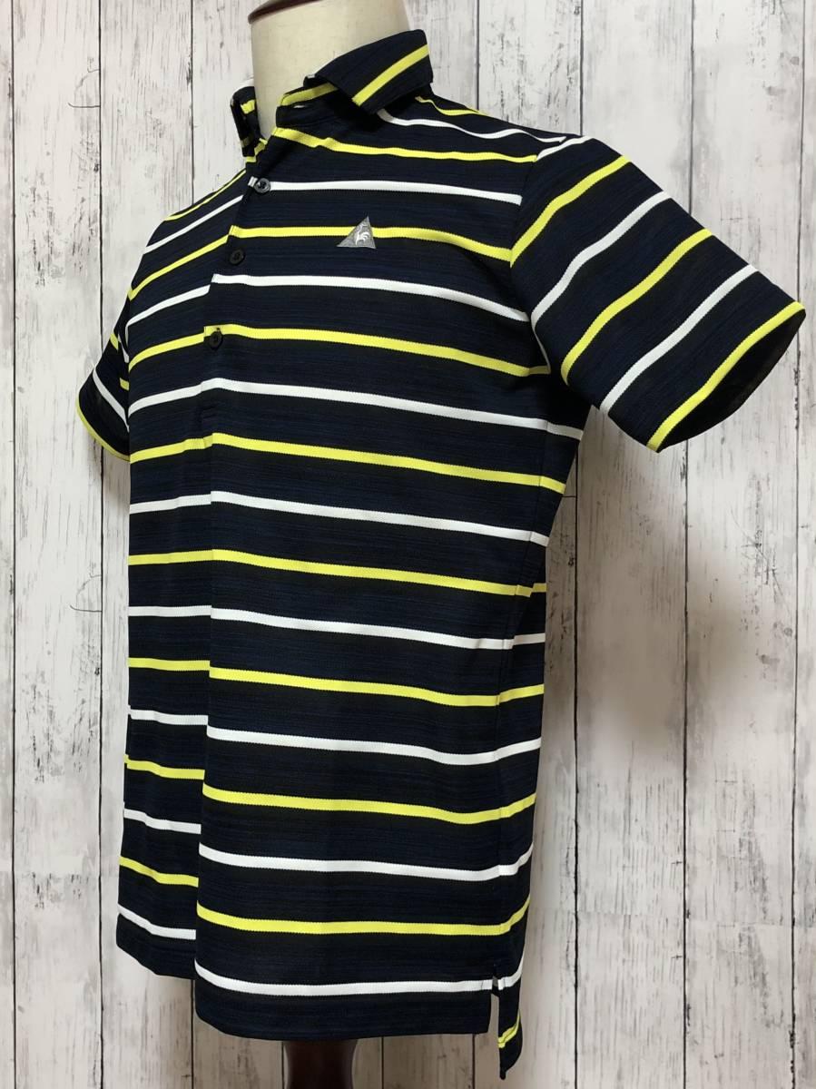 【le coq sportif golf】ルコック ゴルフ ゴルフウェア ポロシャツ 半袖 メンズ Mサイズ 送料無料!_画像2