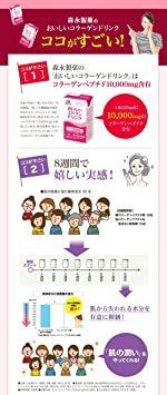 【新品☆即決価格】 : 森永製菓 おいしいコラーゲンドリンク 125ml&24本 約24日分 ピーチ味_画像5