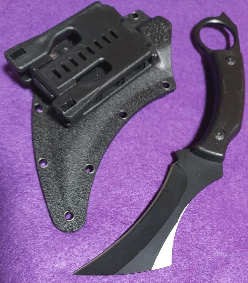 シャドーブレーカー 大型厚刃カランビットナイフ