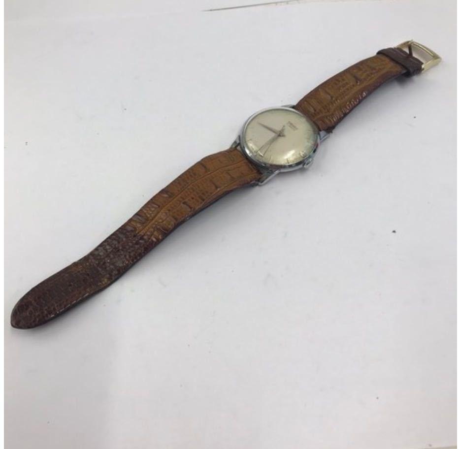 TUGARIS タガリス 腕時計 レザー 手巻き 小物 アナログ メンズ ブランド_画像5