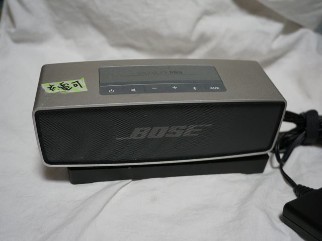 BOSE SoundLink Mini 充電OK;動作品