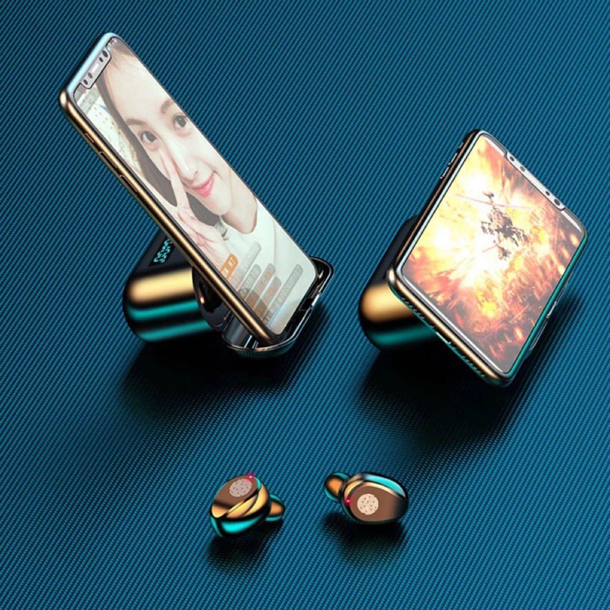 完全ワイヤレスイヤホン ワイヤレスイヤホン Bluetooth5.0 高音質 Bluetooth 完全ワイヤレス 自動 ペアリング
