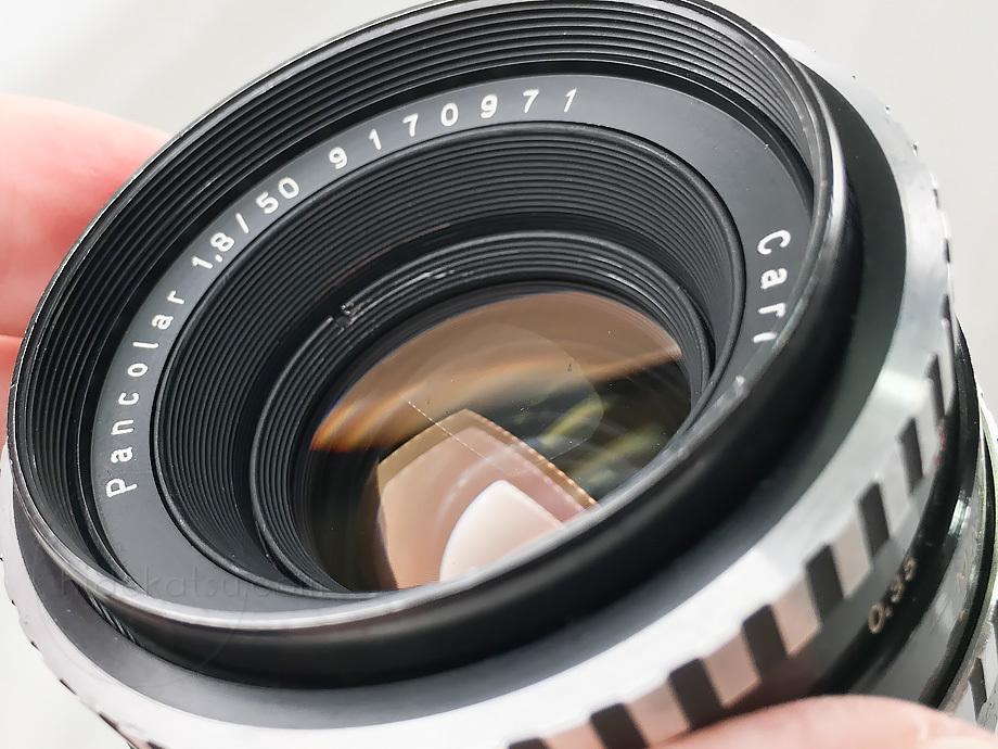 バランス良いオールド感のパンカラー/パンコラー 50mm【分解清掃・撮影チェック済み】Carl Zeiss Jena / Pancolar 50mm F1.8 M42 _18p_画像7