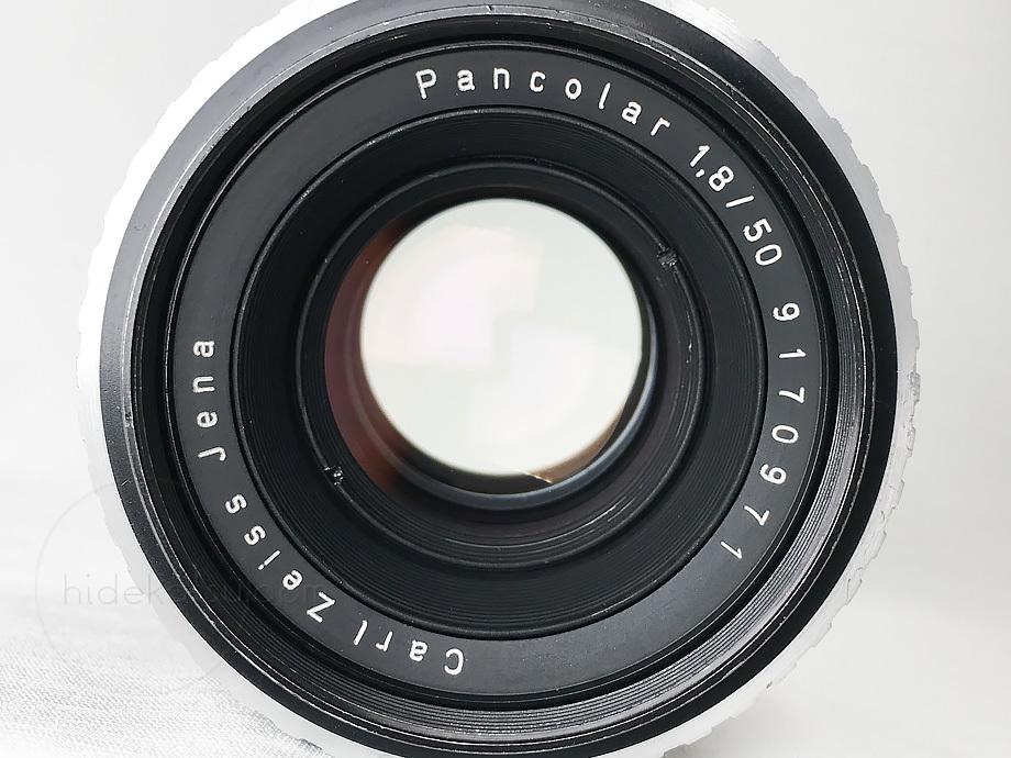 バランス良いオールド感のパンカラー/パンコラー 50mm【分解清掃・撮影チェック済み】Carl Zeiss Jena / Pancolar 50mm F1.8 M42 _18p_画像9
