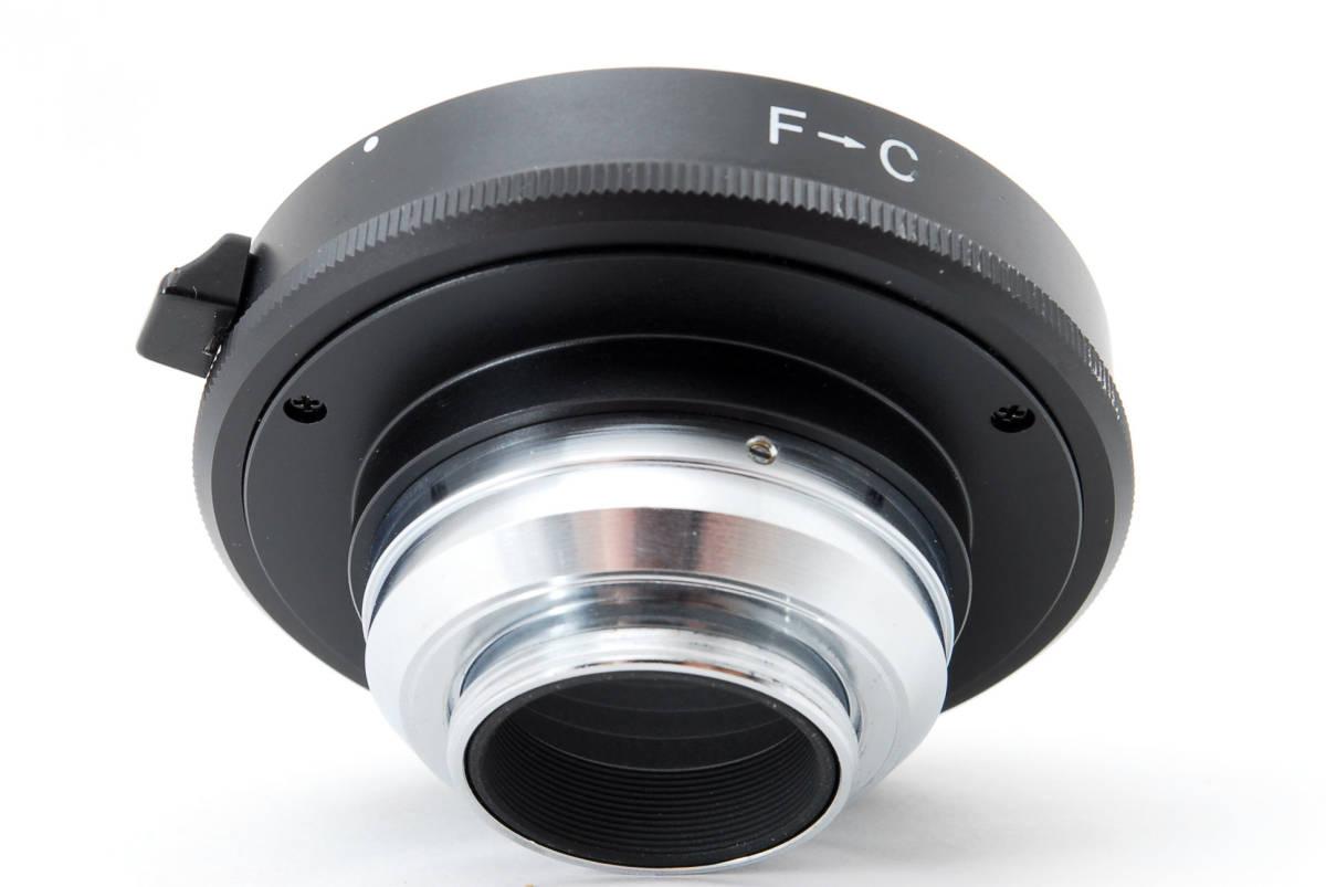 Nikon ニコン 純正 F-C マウント アダプター [美品] #755506_画像5