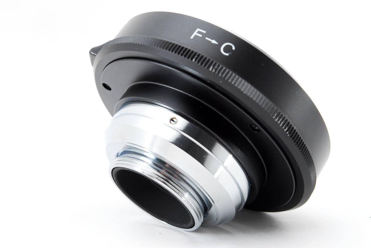 Nikon ニコン 純正 F-C マウント アダプター [美品] #755506_画像4