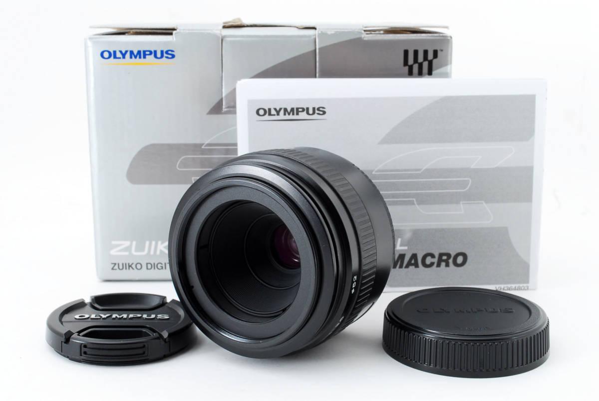 Olympus オリンパス ZUIKO DIGITAL デジタル 35mm f/3.5 Macro マクロ AF 標準 レンズ フォーサーズ 一眼レフ カメラ用 [美品] #755511_画像1