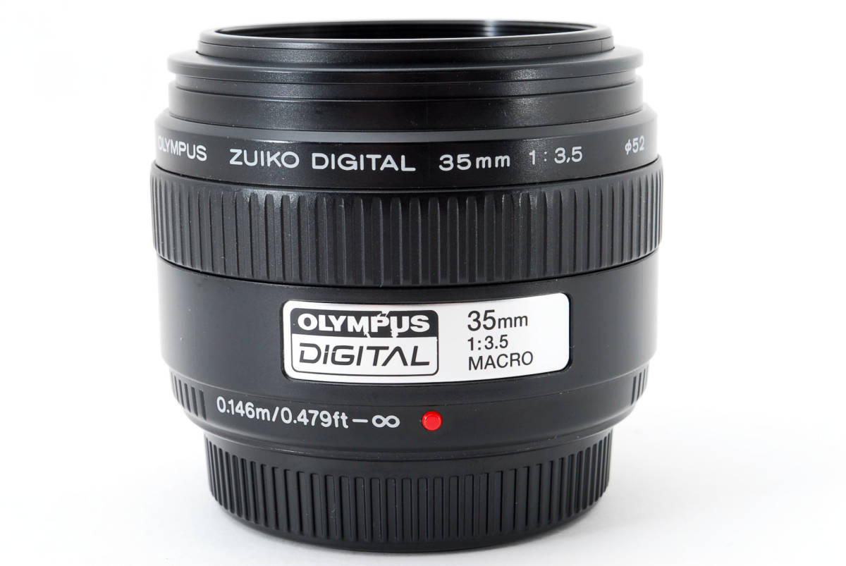 Olympus オリンパス ZUIKO DIGITAL デジタル 35mm f/3.5 Macro マクロ AF 標準 レンズ フォーサーズ 一眼レフ カメラ用 [美品] #755511_画像9