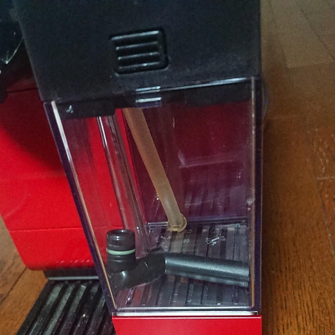 コーヒーメーカー ネスプレッソ ラティシマ タッチ Nespresso Lattissima Touch F411 レッド