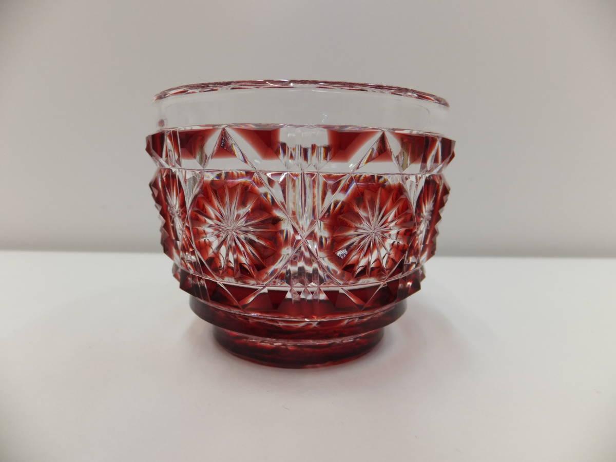 工芸品祭 芸術祭 島津 薩摩切子 SHIMADZU 猪口 ぐいみ グラス コップ ショット 赤_工芸品祭、開催中です!