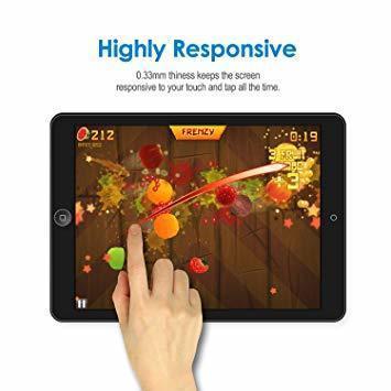 透明 7.9 インチ JEDirect iPad mini 1 2 3 (iPad mini 2019モデル非対応) 用液晶保護_画像4