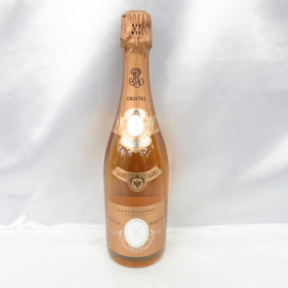 【未開栓】LOUIS ROEDERER ルイ?ロデレール CRISTAL ROSE クリスタル ロゼ 2012 シャンパン 750ml 12% 10748426