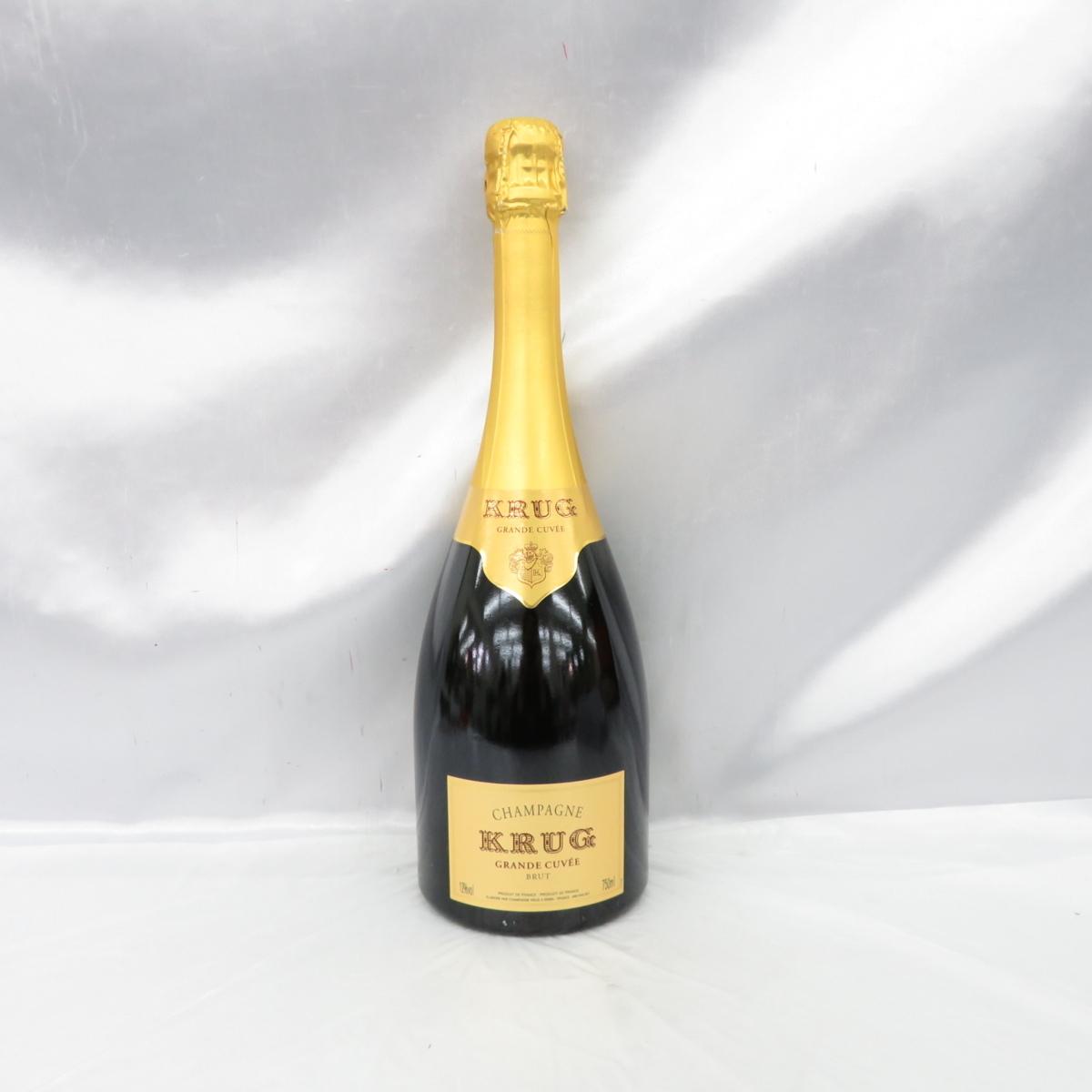 【未開栓】KRUG GRANDE CUVEE BRUT クリュッグ グランキュヴェ ブリュット シャンパン 750ml 12.5% 10752865