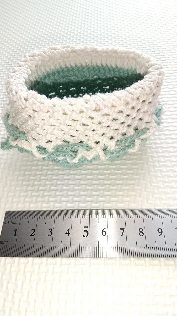 かぎ針編み 春色 ポーチ二点セット
