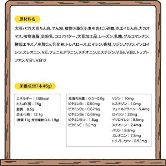【送料1円】アサヒグループ食品 1本満足バープロテインチョコ 1本×9本_画像5
