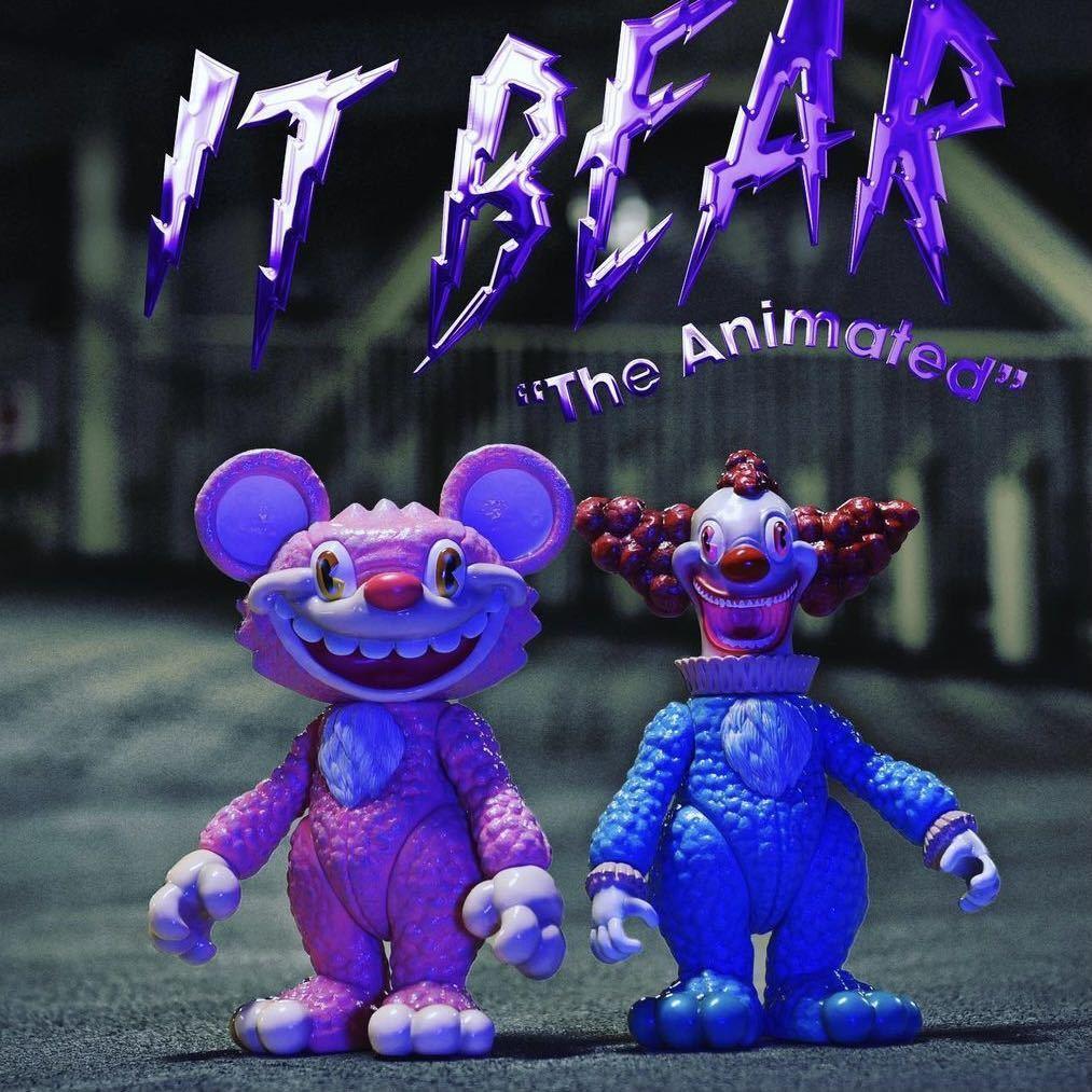 新品 JPX x MILKBOY TOYS IT BEAR the animated TOYS itbear kenth toy works BLACK PEARLS イットベアー ミルクボーイトイズ ソフビ_画像4