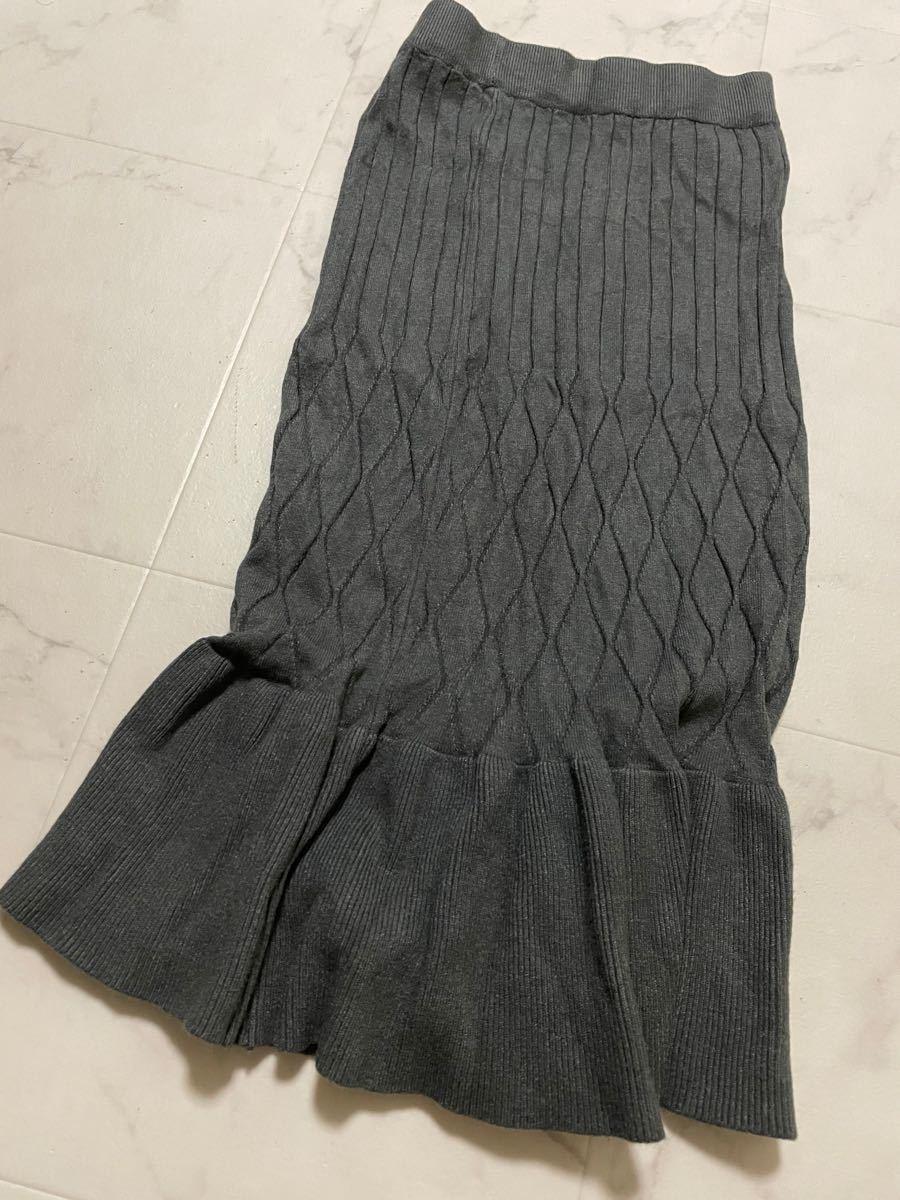 タイトスカート ロングスカート マーメイドスカート