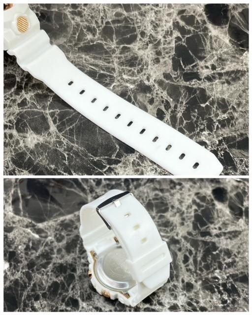 スポーツ腕時計 LED デジタル 腕時計 時計 ミリタリー 自転車 スポーツ アウトドア キャンプ 男女兼用 ランニング ホワイト 21_画像6