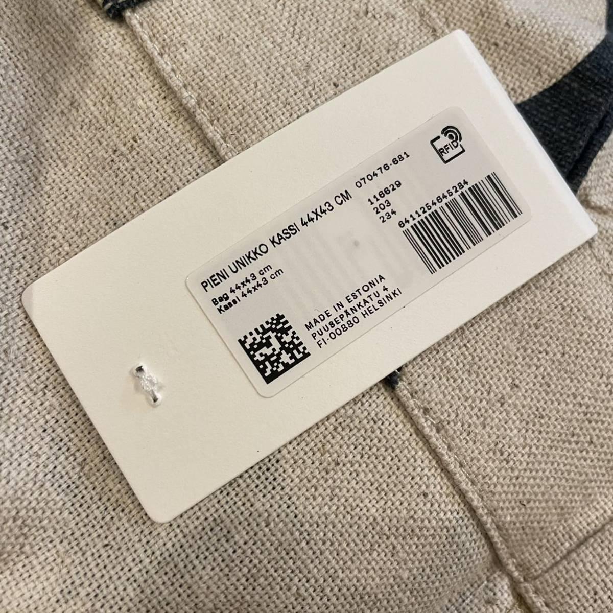 marimekko マリメッコ Pieni Unikko 完売リネントートバッグ