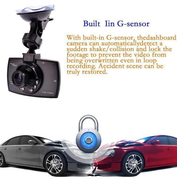 ドライブレコーダー 車載カメラ ドラレコ 1080PフルHD ビデオカメラ ナイトビジョン 170度広角 Gセンサー ループ録画 小型_画像5