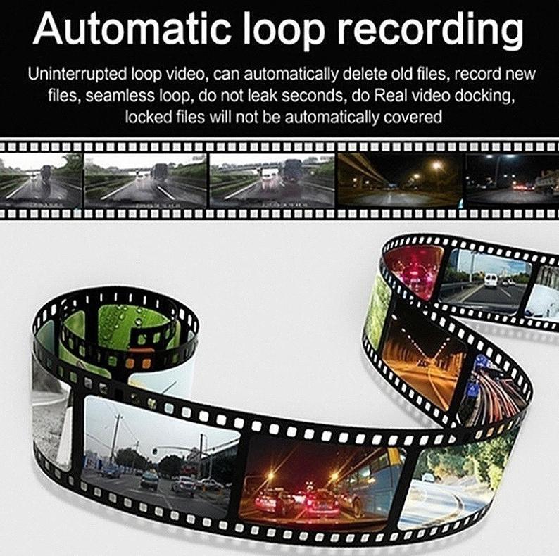ドライブレコーダー 車載カメラ ドラレコ 1080PフルHD ビデオカメラ ナイトビジョン 170度広角 Gセンサー ループ録画 小型_画像2