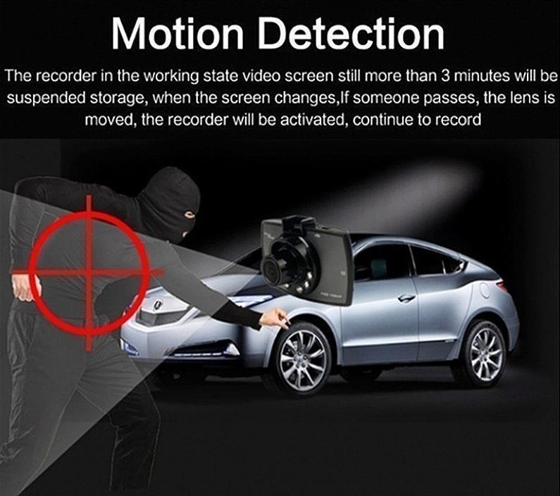 ドライブレコーダー 車載カメラ ドラレコ 1080PフルHD ビデオカメラ ナイトビジョン 170度広角 Gセンサー ループ録画 小型_画像6