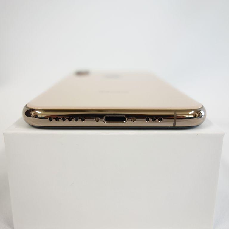 1円スタート ジャンク SIMフリー iPhone Xs 64GB ゴールド 残債無し アウトカメラ使用不可 【専0406-236再】兼_画像4