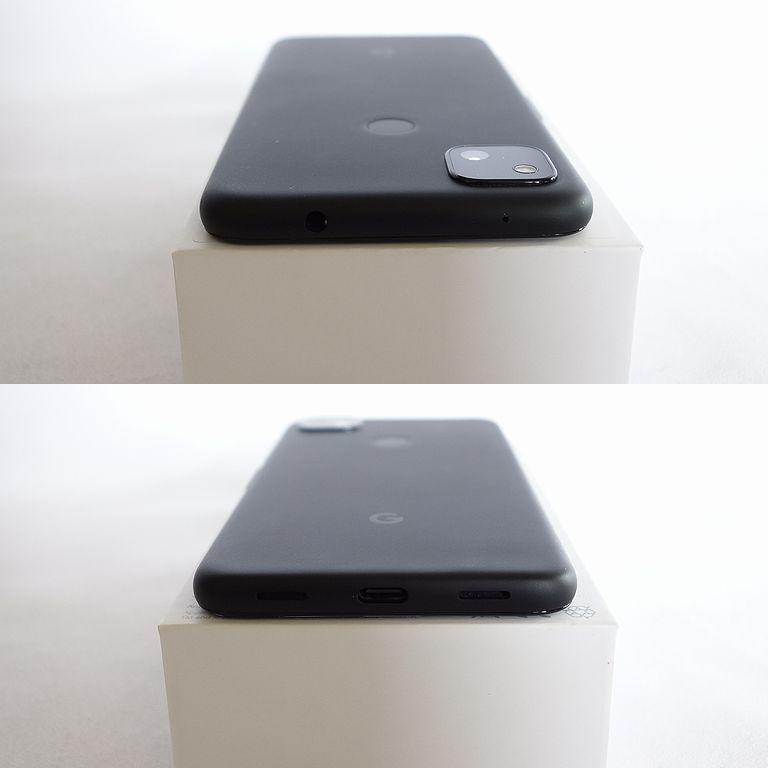 美品 SIMフリー ◆安心30日保証◆ Softbank Google pixel 4a 128GB ジャストブラック ネットワーク制限保証 【専0402-339】岡_画像5