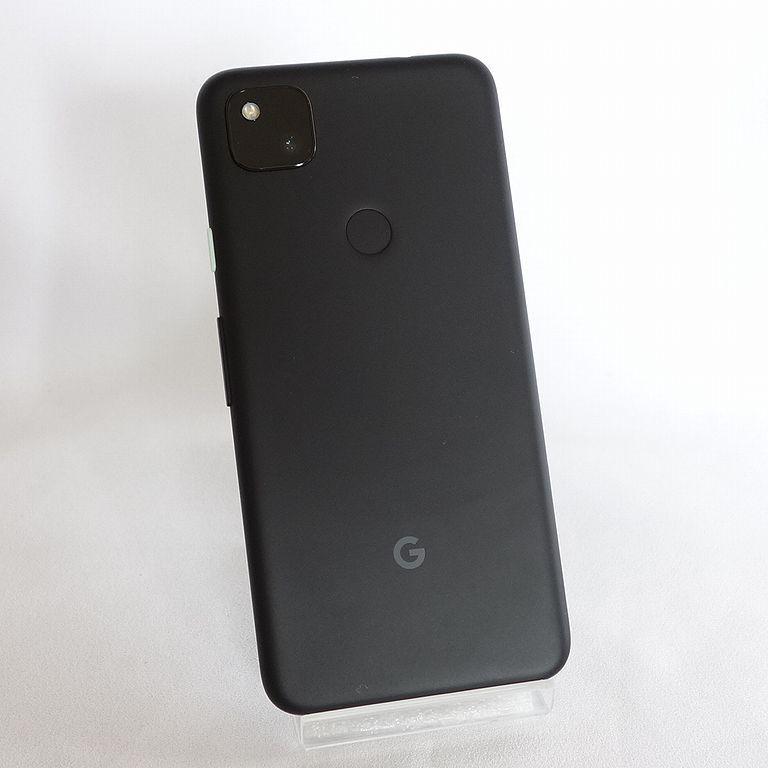 美品 SIMフリー ◆安心30日保証◆ Softbank Google pixel 4a 128GB ジャストブラック ネットワーク制限保証 【専0402-339】岡_画像3