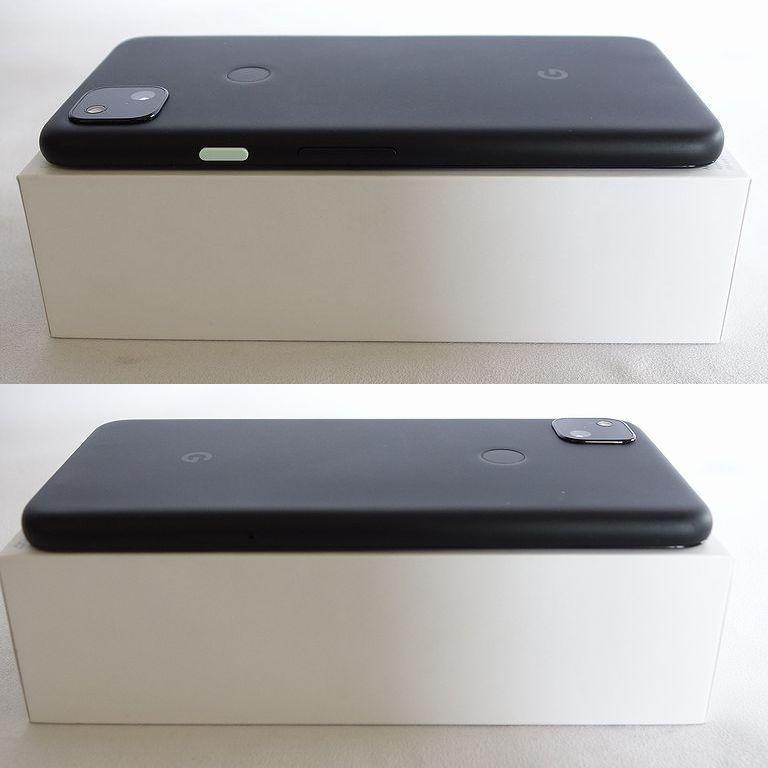美品 SIMフリー ◆安心30日保証◆ Softbank Google pixel 4a 128GB ジャストブラック ネットワーク制限保証 【専0402-339】岡_画像4