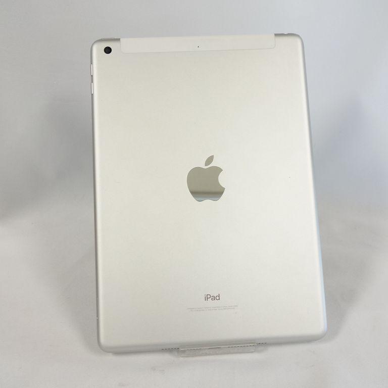 ジャンク au iPad 6 シルバー 32GB Wi-Fi+Cellular アクティベーションロック 画面割れ A1954【k0420-30】岡_画像2