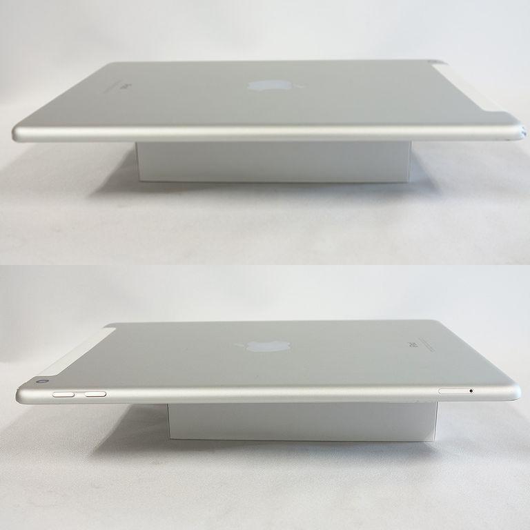 ジャンク au iPad 6 シルバー 32GB Wi-Fi+Cellular アクティベーションロック 画面割れ A1954【k0420-30】岡_画像6