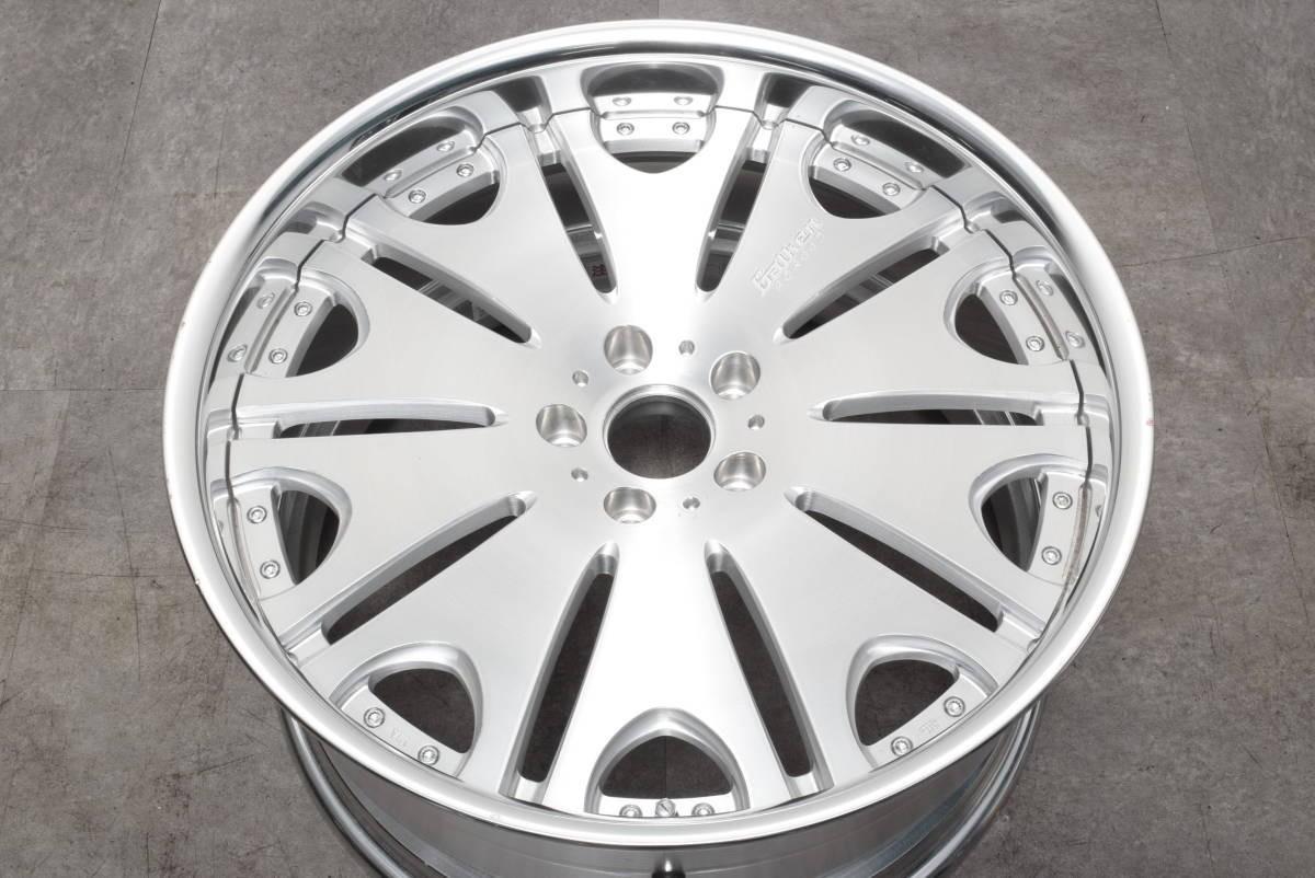 【鍛造 深リム】ヴァルケン フォージドコレクション WRC 20in 10J +30 PCD114.3 クラウン マークX オデッセイ V36 V37 スカイライン フーガ_画像1
