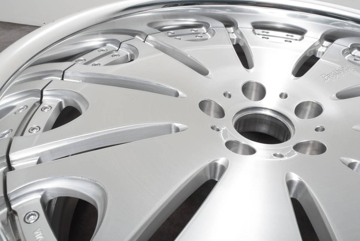 【鍛造 深リム】ヴァルケン フォージドコレクション WRC 20in 10J +30 PCD114.3 クラウン マークX オデッセイ V36 V37 スカイライン フーガ_画像4