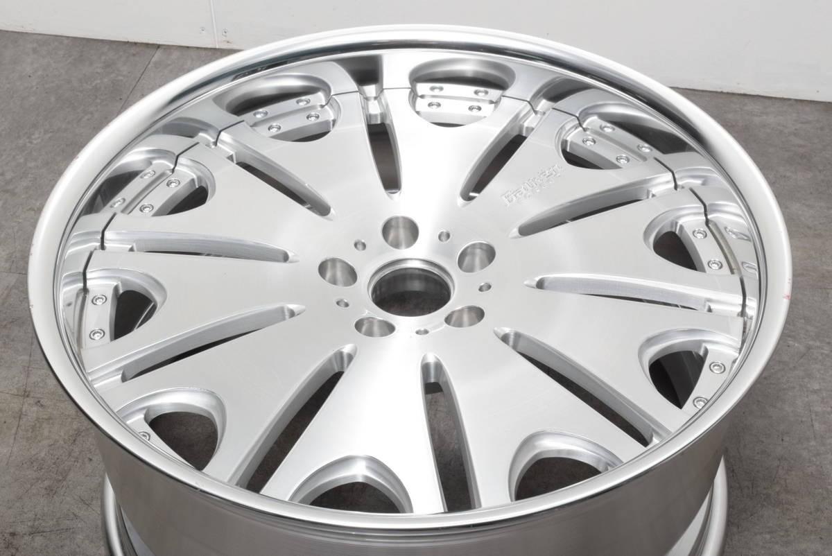 【鍛造 深リム】ヴァルケン フォージドコレクション WRC 20in 10J +30 PCD114.3 クラウン マークX オデッセイ V36 V37 スカイライン フーガ_画像2